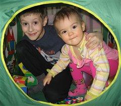 братишка и сестрёнка