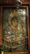 Вифлиемская улыбающаяся Дева Мария
