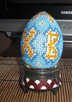пасхальное яйцо (бисер)