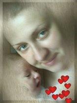 Даниэль с мамой