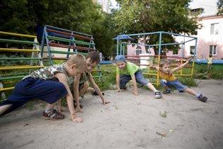 Детский сад. Группа ниндзей-черепашек