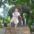 Олежка в Зоопарке