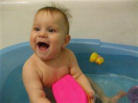 А я люблю купаться!