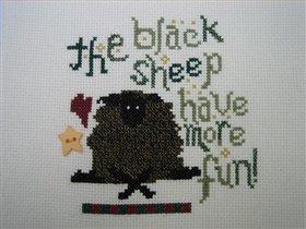 Моя черная овечка.