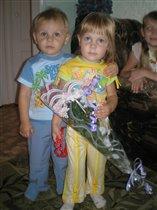 Я подарил цветочки! И фото на память!!!