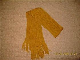 Китайский шарфик к зиме, шерсть