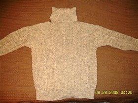 Мой любимый свитер, 80% шерсть и 20% акрил.