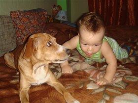 Это я со своей собакой