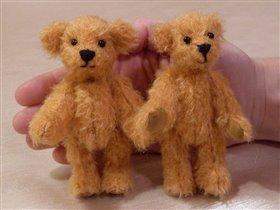 Мишки-малыши Томас и Джордж