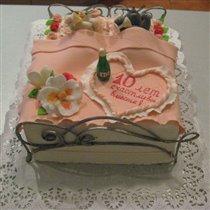 Тортик Мышки в кроватке:)
