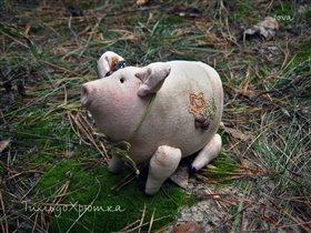 Свинка Хрюня (Тильда)