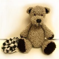 Мои игрушки - Мишка Ретро