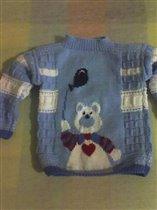 мы растем - новый свитерок