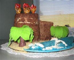 Торт Девичья башня