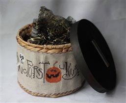 Корзинка на Хеллоуин от анелЕ