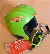 Шлем с очками р 52