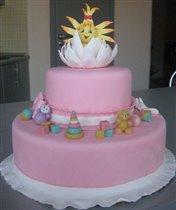 Тортик младшему Солнышку