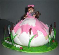 Торт - дюймовочка