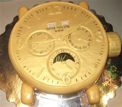 Торт 'Часы президента!