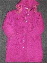 Пальто для девочки Mothercare на 6 лет