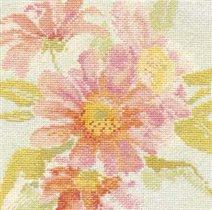 Pink Chrsanthemums Watercolour (Derwentwater)