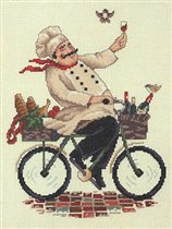 Bicycling chef