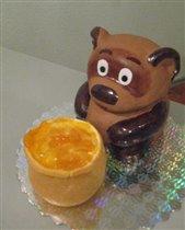 Торт 'Винни Пух' С горшочком для Даши