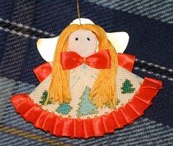 елочная игрушка - ангел