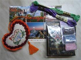 Домашнее сердечко и подарочки от Амариллис