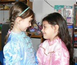 Подружки-принцесски