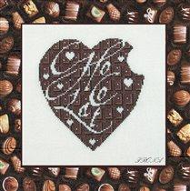 Шоколадное сердце