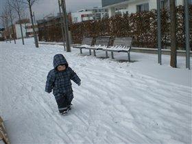 Sneg v Munchene