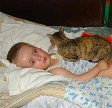 Кошка и я - лучшие друзья!