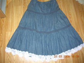 Джинсовая юбка DEBENHAMS