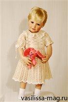 вязание для детей - летнее платье