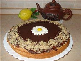 Бисквитный  пирожок