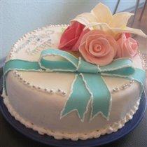 Тортик маме на ДР