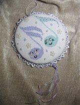 медалька 'Веселые нотки' для Анютки