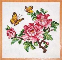 077_цветы и бабочки