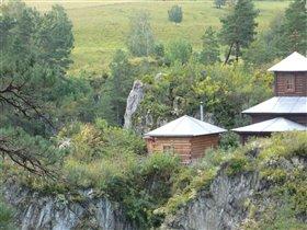 Монастырь на р.Чемал