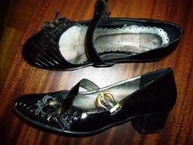 туфли черные 36 р.