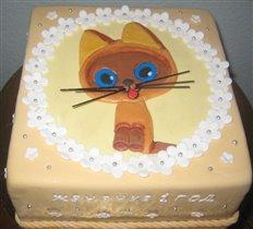 Торт 'Котёнок Гав'