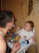 Папа, верни конфетку, я передумала!