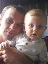 мы с папой очень любим сладенькон