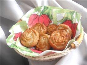 оладьи - розы
