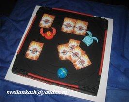 Торт Игра бакуганы