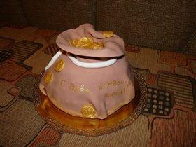 торт Многа бабла