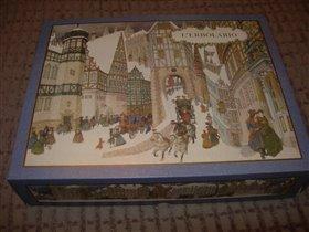Коробка большая Рождество