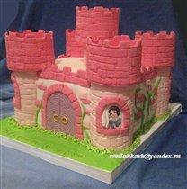 Торт Замок принцесс