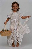 Крестильное платье 'Королевское'